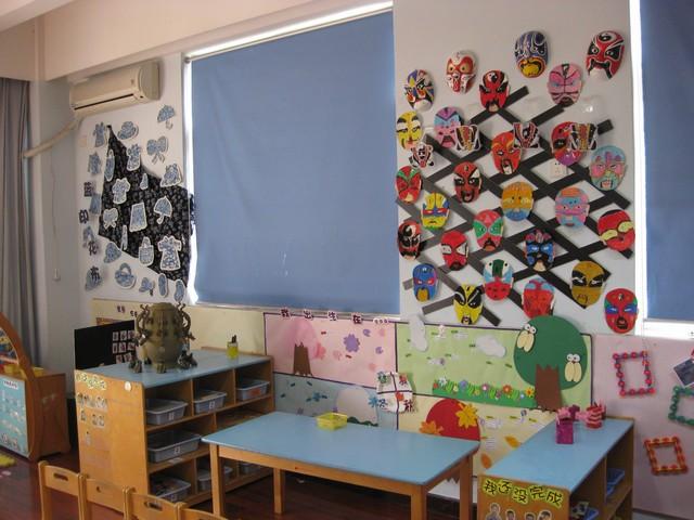 幼儿园中国风主题墙边框
