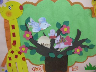 小班幼儿画大树步骤