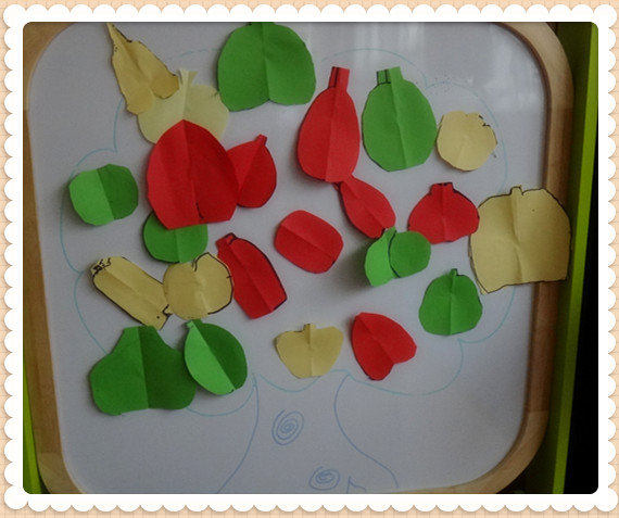 美术作品《苹果树》