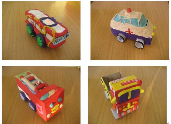幼儿园手工制作大全塑料瓶车