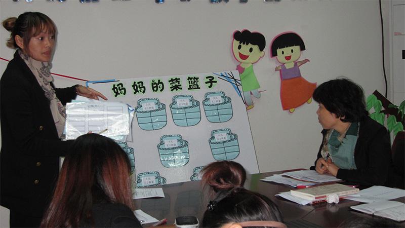 金棕榈幼儿园开展教师教师自制教玩具评比活动