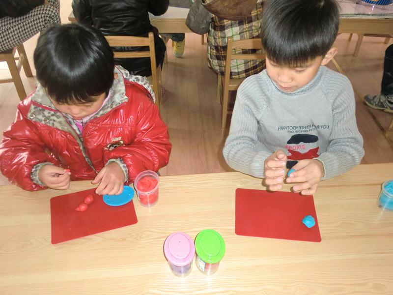 幼儿橡皮泥制作比赛