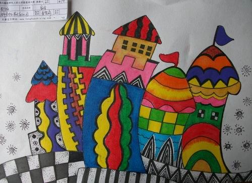 满幼童画之星美术创意大赛比赛结果图片