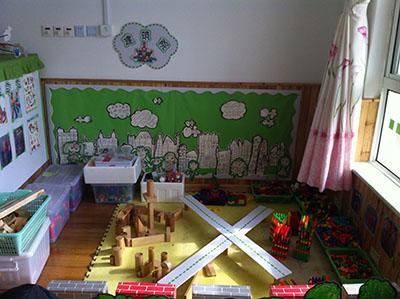 幼儿园建构区手工制作大全图片
