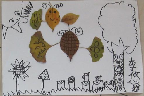 幼儿教师简笔画秋天