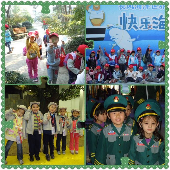 """、7日两天,吴江幼儿园组织中大班幼儿开展了素质教育实践活动。这次的活动与以往我们组织的亲子活动不同,是孩子们第一次离开爸爸妈妈的保护,自己背上小书包,跟随老师走出幼儿园,独自去探索与实践。中班组围绕""""秋天来了""""的主题,组织孩子们来到长风公园。孩子们和老师、同伴一起捡树叶、看白鲸表演、观海洋世界,自己整理小书包、吃午餐,不仅长了见识,自理能力也获得了提高。大班组则结合主题""""我们的城市"""",组织孩子们来到酷贝拉职业体验中心,让孩子们在扮演角色、体验不同职业的过程中"""