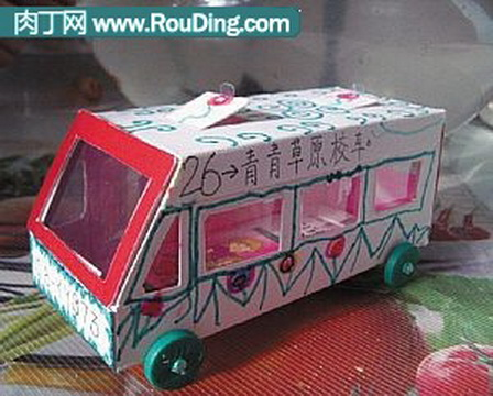 纸箱制作汽车人