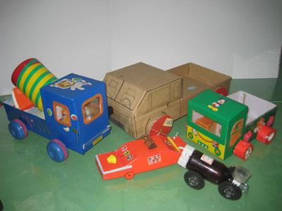 纸箱车制作步骤图片