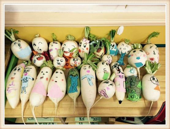 幼儿园萝卜手工制作大全