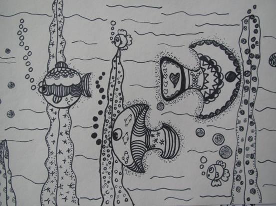 园所主页 幼儿作品 绘画作品  快乐的小鱼儿                  发布