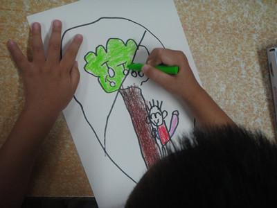 活动名称:设计幼儿园安全标志