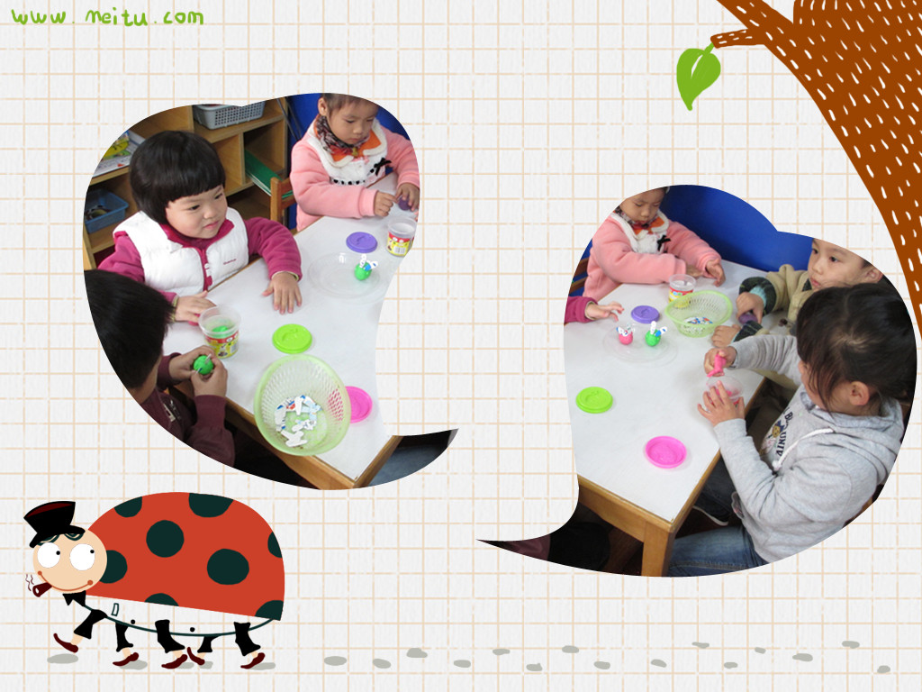 泥工:捏小兔              发布时间: 2012年11月23日 一个圆圆的