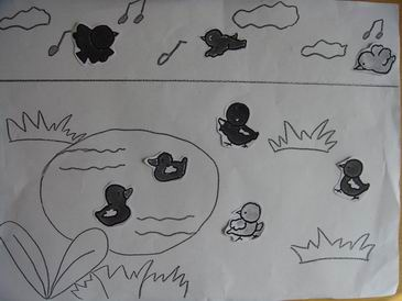 幼儿小鸭怎么画步骤