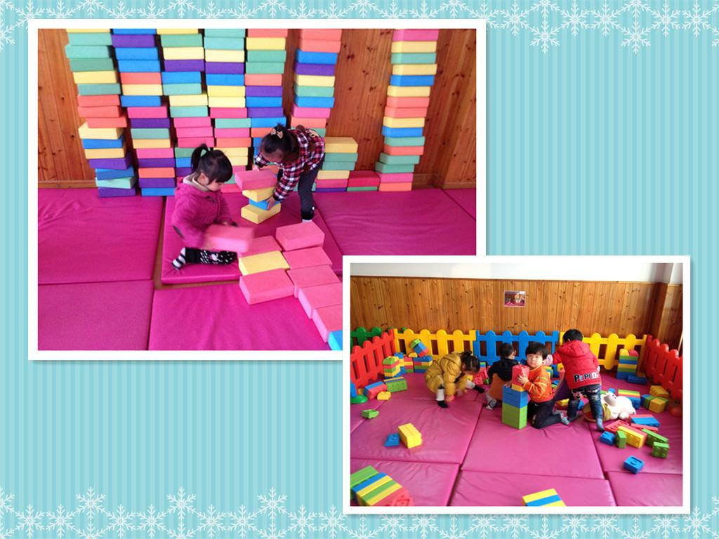 园所主页 中一班 我在幼儿园 我的一天   又是建构图片