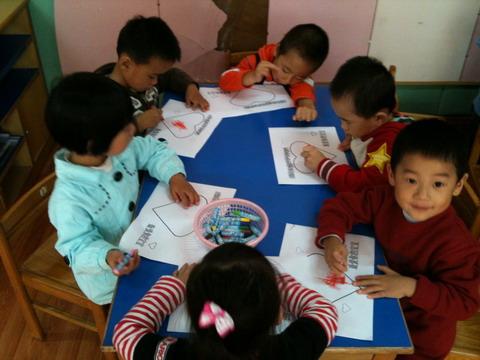 第一次在幼儿园过重阳节 -闵行区七宝中心幼儿园欢迎您 七宝中心幼儿