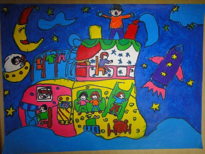 2第七届长宁区青少年科技创新大赛科幻画比赛 -信息详细 - 愚五幼儿园