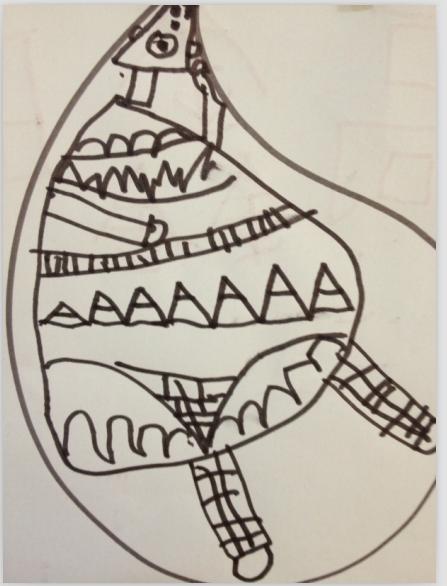 儿童画 简笔画 手绘 线稿 447_586 竖版 竖屏