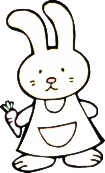 首页 小白兔卡通简笔画  卡通动物 简笔画 :小鸟兔子简笔画图片大全