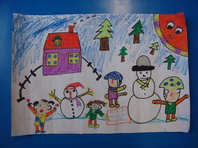 安全伴我行儿童画_绘画分享图片
