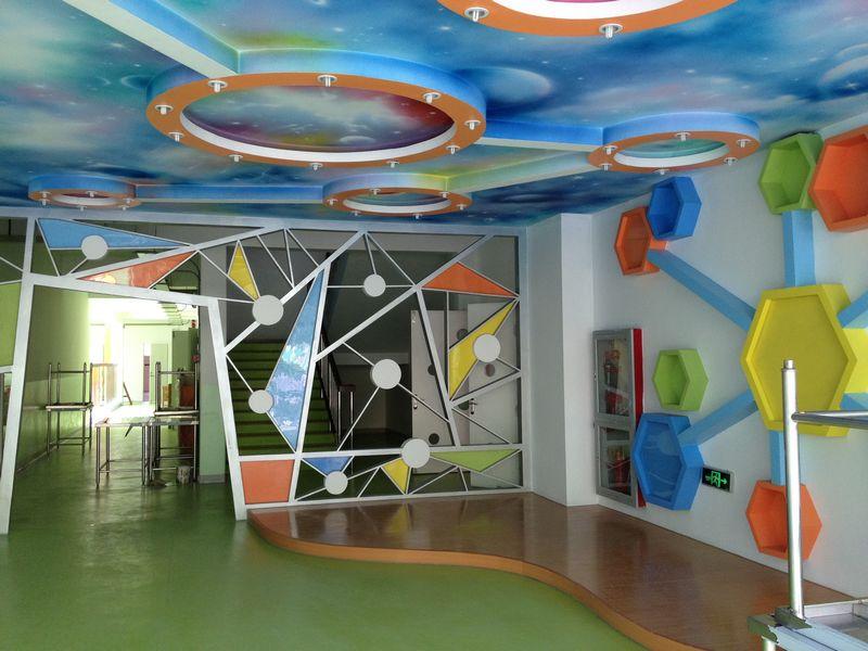 幼儿园门厅设计照片; 作者