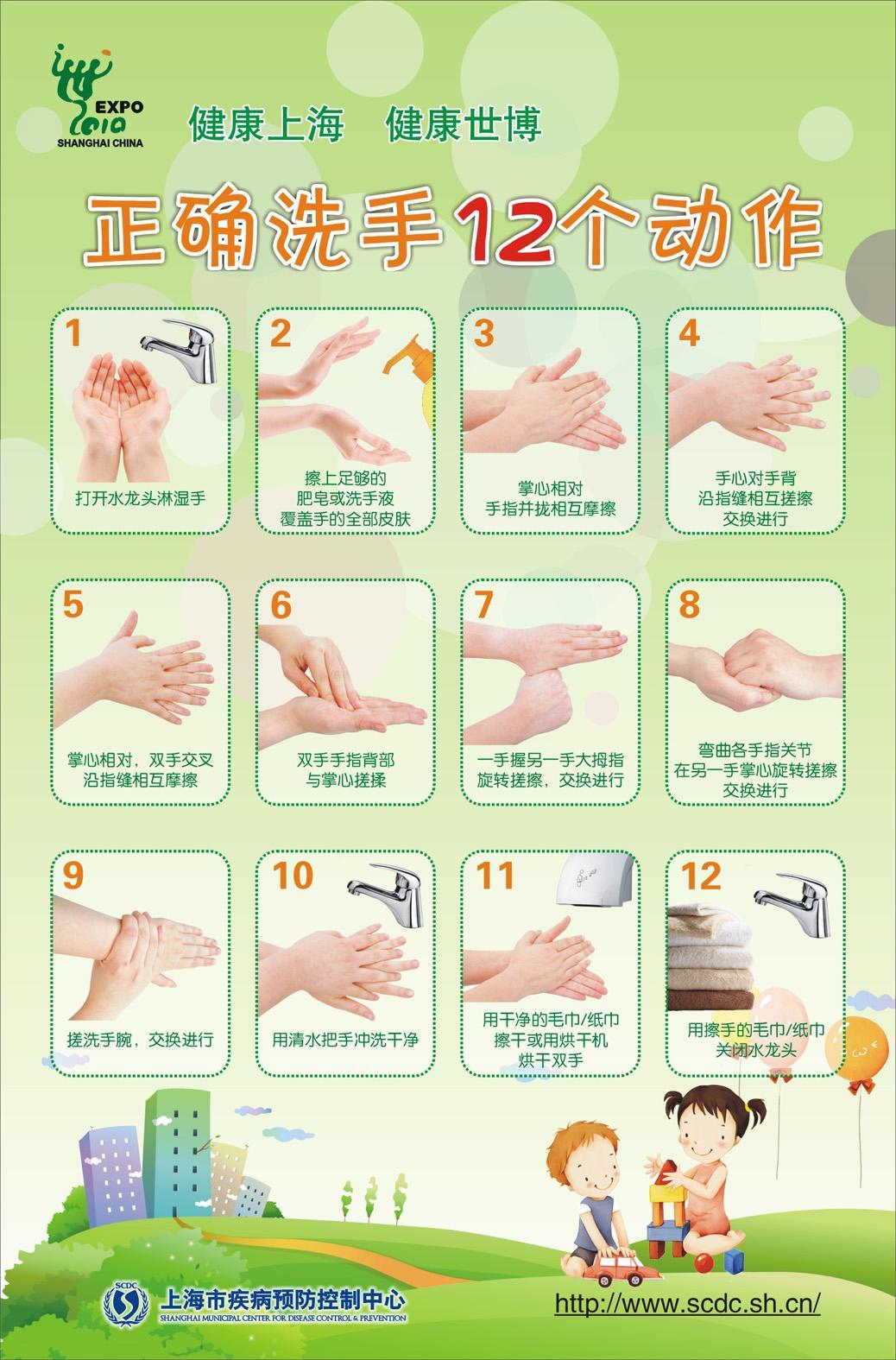 指导幼儿园洗手步骤