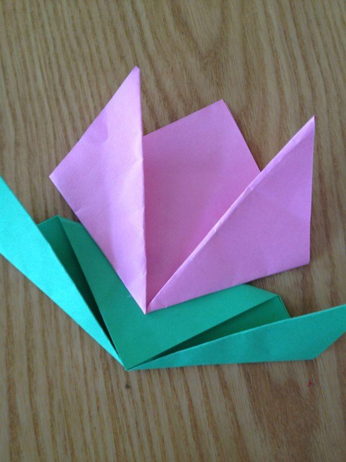 叠小花的步骤图片
