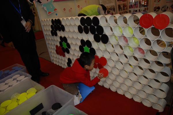 幼儿园班牌造型木制感觉