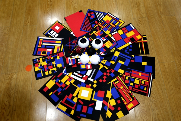创意美术,创意生活——康城幼儿园开展创意美术培训活动图片