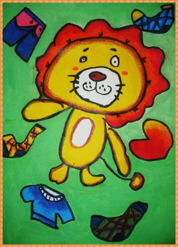 糊涂的小狮子