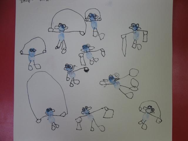 幼儿园中班简笔画图片大全