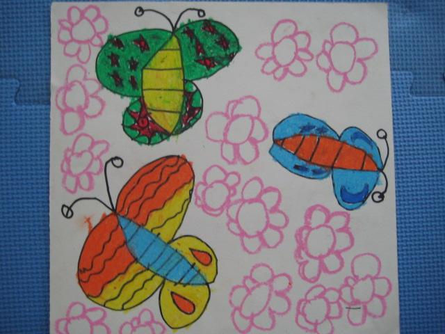 如果能给蝴蝶翅膀上的花纹再多增一些