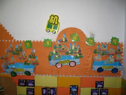的小司机主题; 幼儿园小司机主题墙;