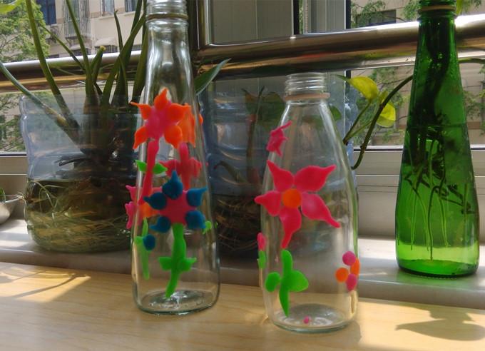 用彩泥做花瓶步骤图片