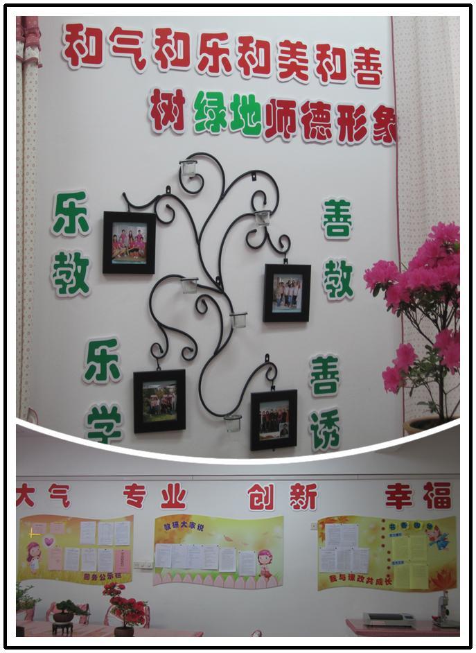 幼儿园教研动态与公示栏设计图展示
