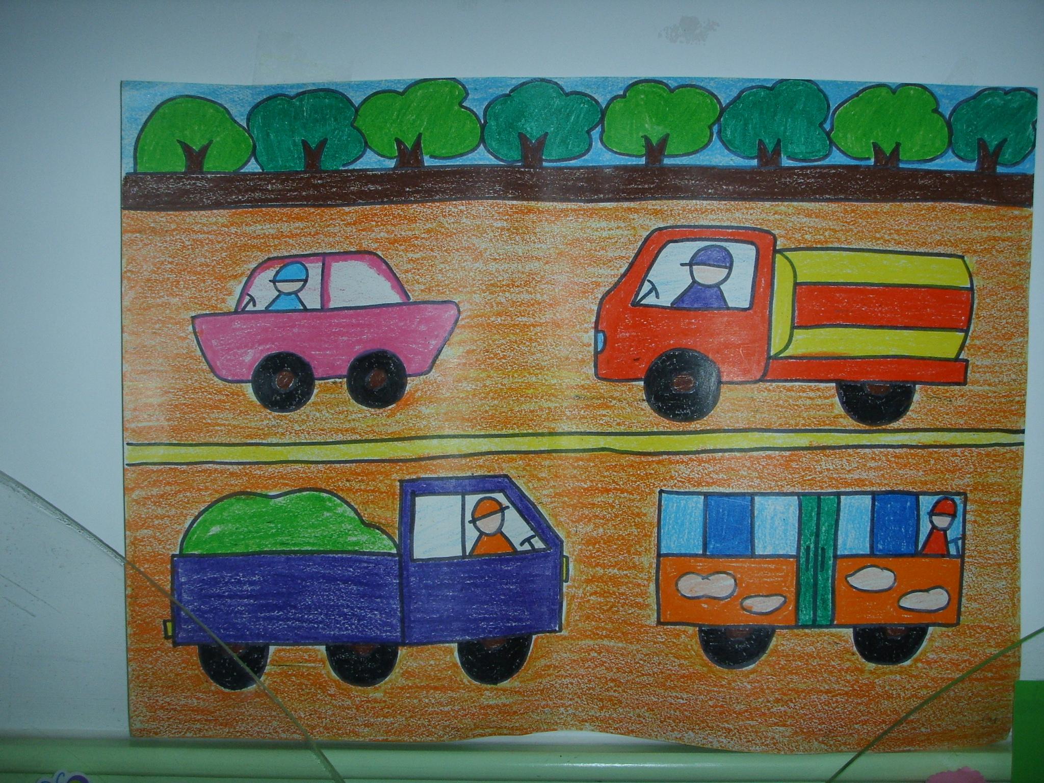 幼儿园大班美术范画幼儿园美术兴趣班范画幼儿园图片