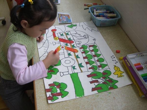 环保创意儿童画