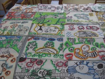 重固幼儿园开展幼儿绘画活动