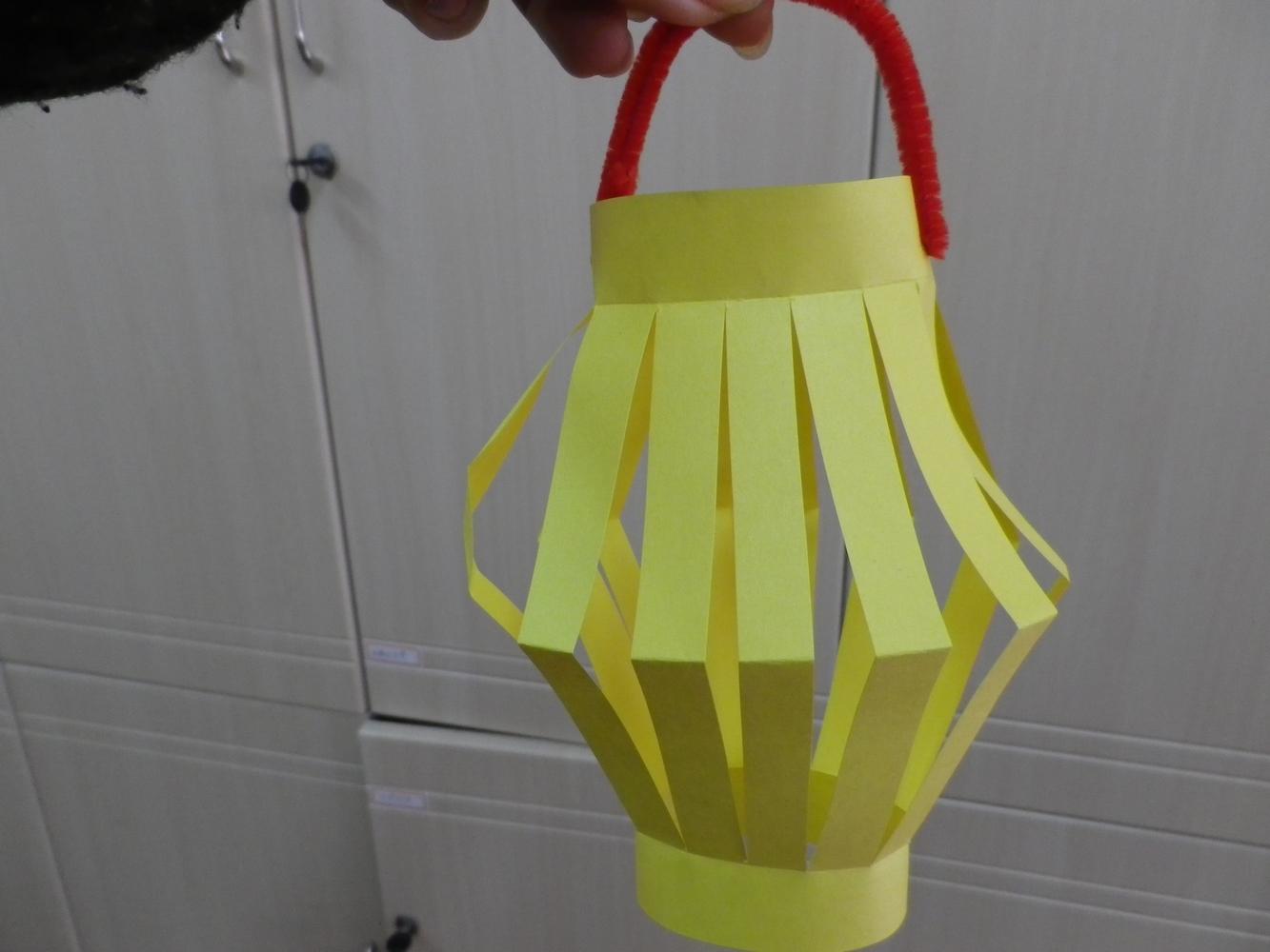 幼儿园手工制作正方形灯笼