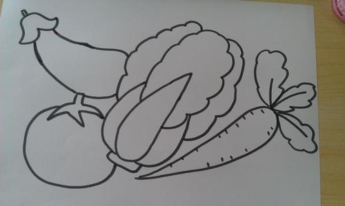 幼儿中班绘画简笔画
