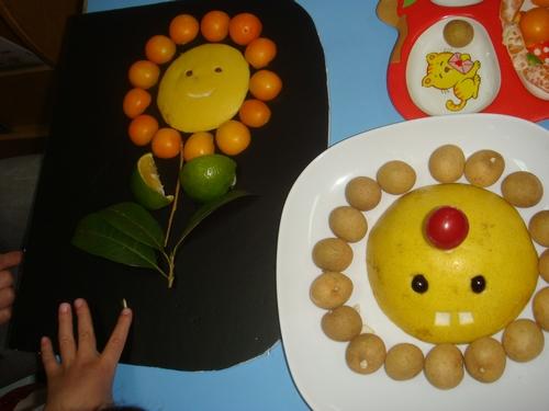 花式水果拼盘图片下载; 幼儿水果拼盘;