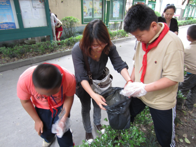 上钢新村幼儿园教师志愿者辅读学校实践活动