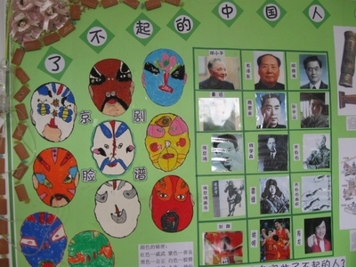 幼儿园大班主题墙板块饰设计图片展示