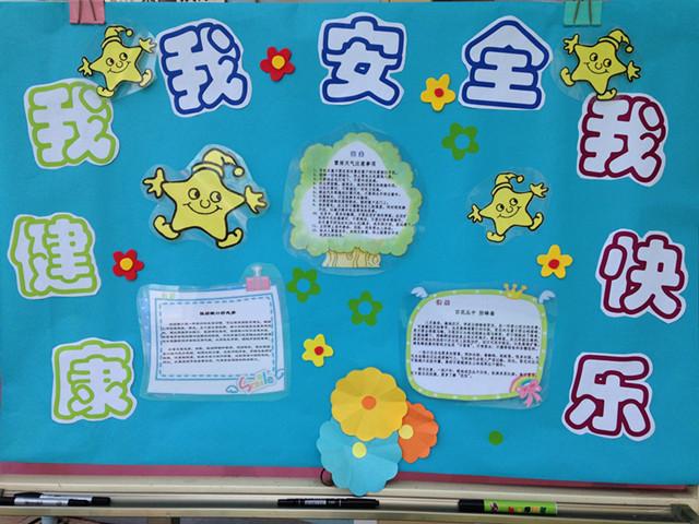 幼儿园中班冬天主题展板
