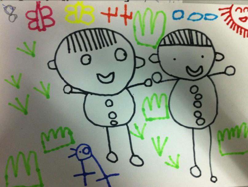 幼儿园小班画画图片大全