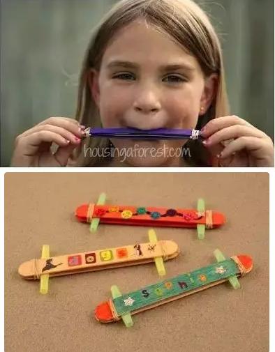 乐器小孩手工制作大全