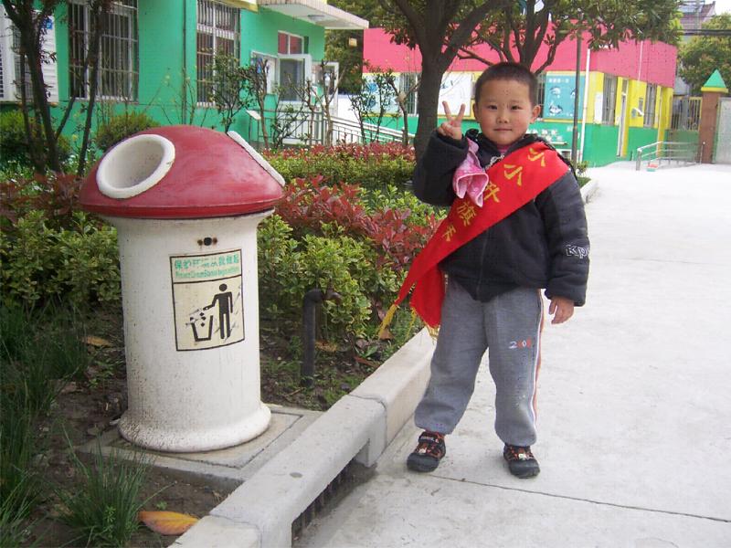 孩子手工垃圾桶制作方法