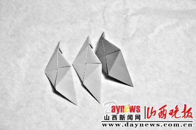 幼儿园手工折纸粽子步骤图