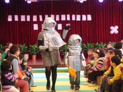 幼儿园手工制作模特衣服