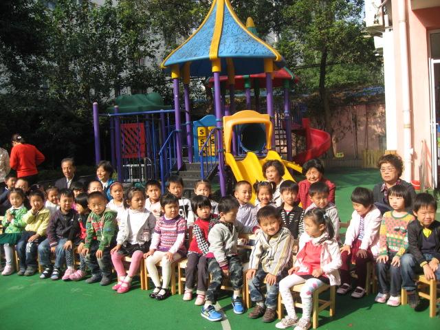 塘桥幼儿园九九重阳节活动
