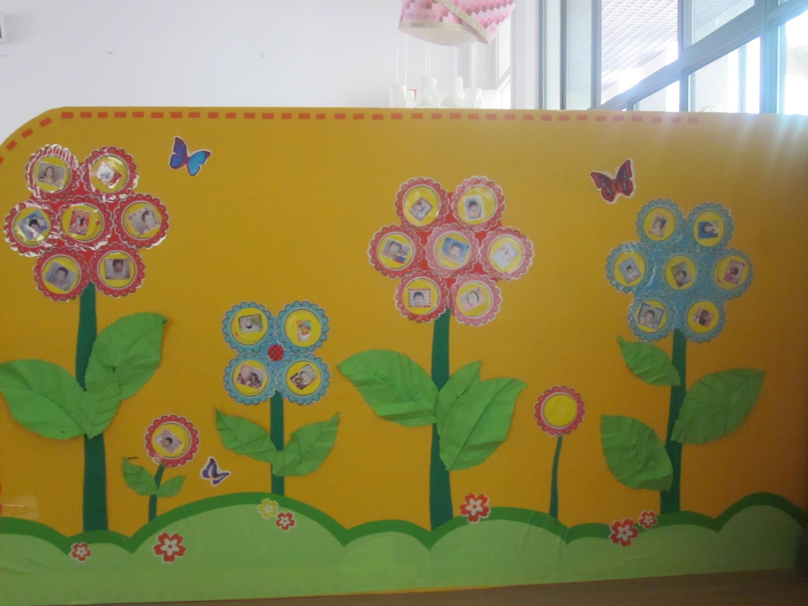 幼儿园娃娃家绘画作品全家福分享展示图片